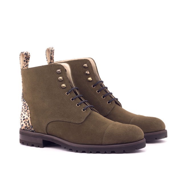 Lace Up Captoe Boot 004