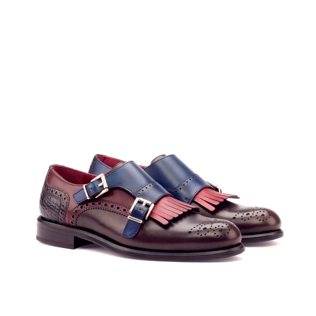Kiltie Monk Strap Woman 006