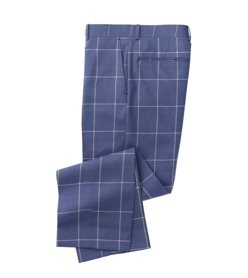 Blue Grey Windowpane