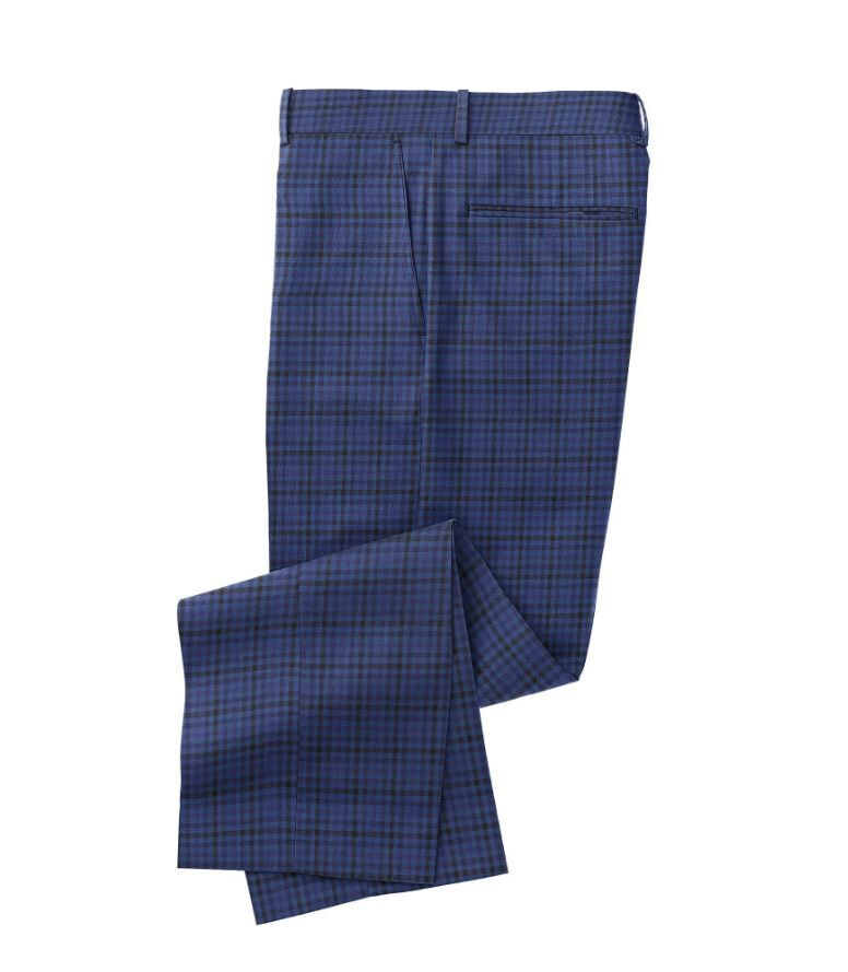 Blue Navy Check
