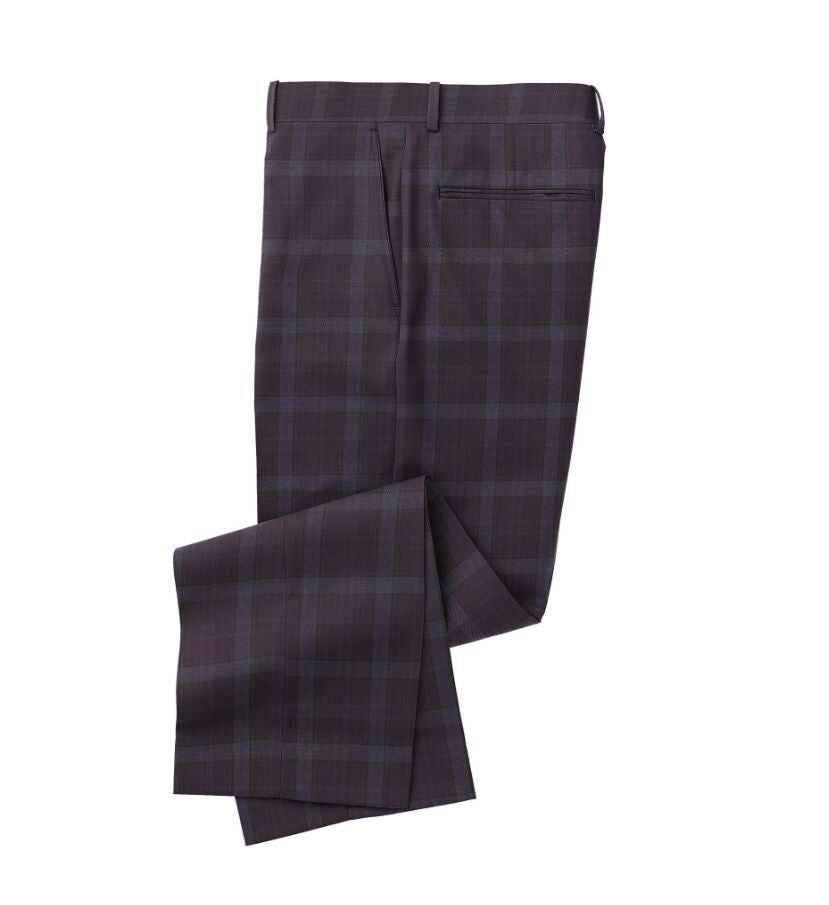 Deep Purple Blue Plaid