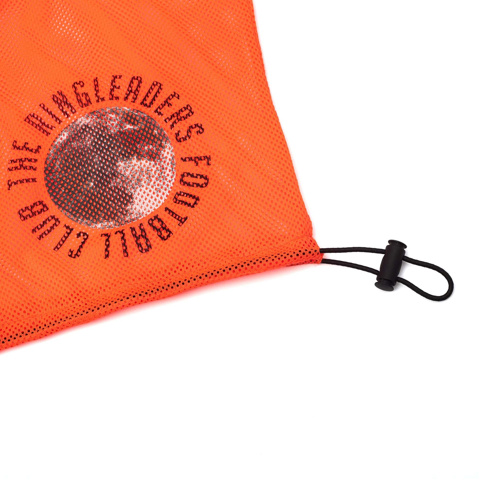 Midnight Cup II Mesh Grocery Tote Bag Bib Orange