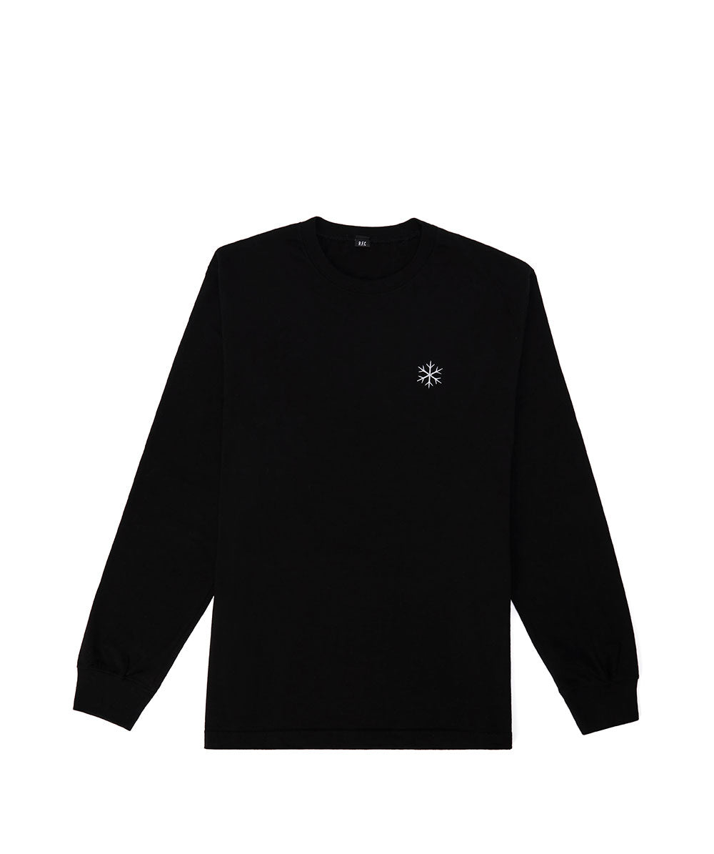 RFC SOOTHING L/S T-SHIRT ONYX