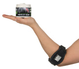 pain relief cream and tennis elbow brace