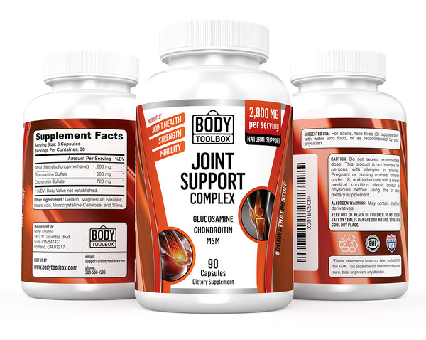 3 view joint support supplement
