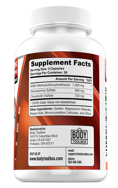 joint support supplement facts