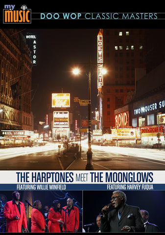 The Harptones Meet The Moonglows (DVD)