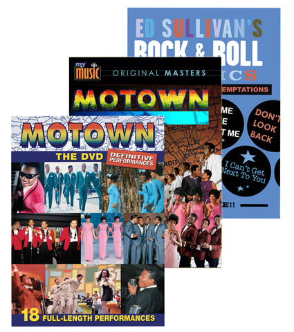 Motown: Big Hits and More (3-DVD Set)