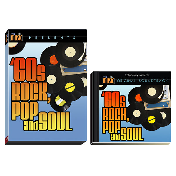 60's Rock, Pop & Soul 4-DVD/1-CD Set