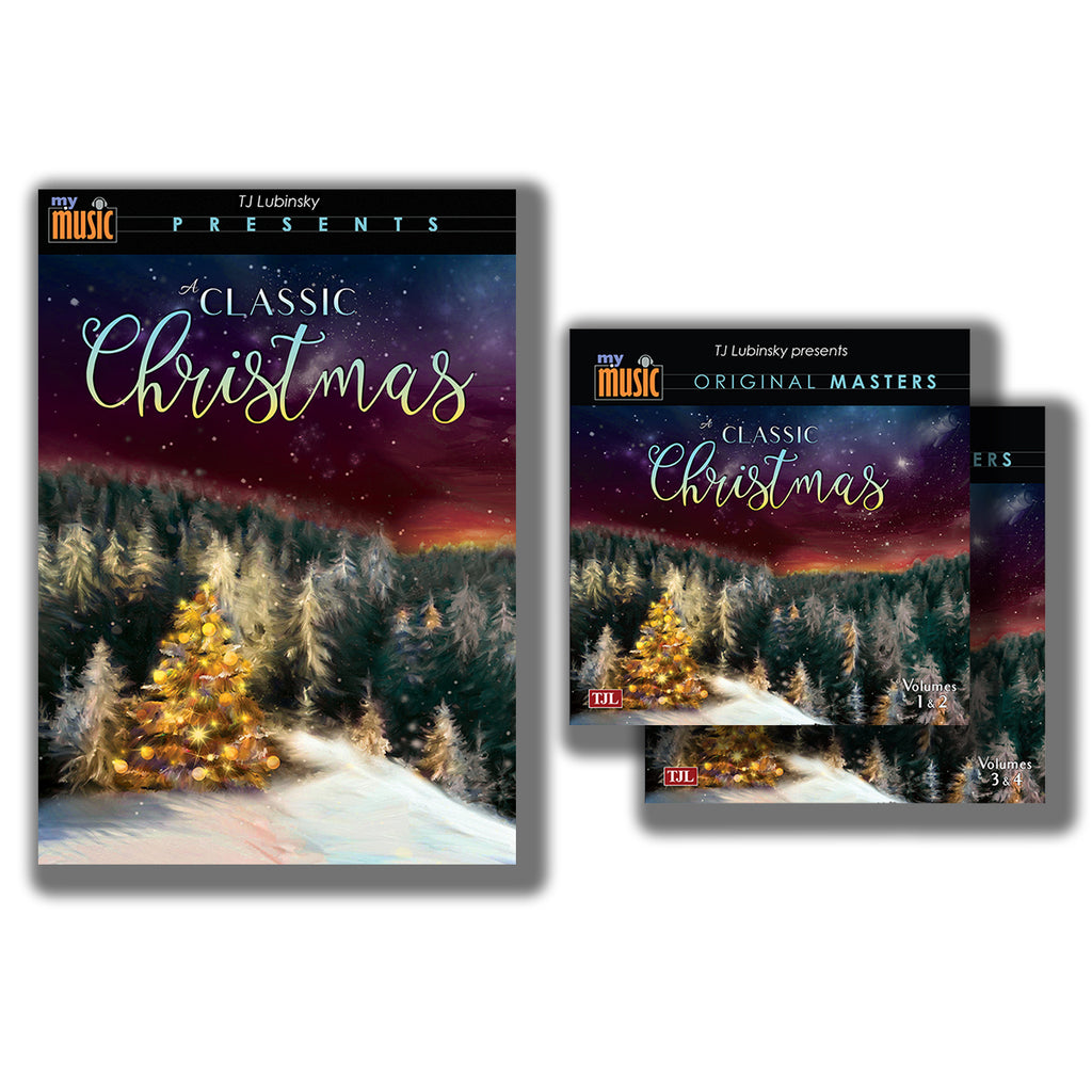 My Music - A Classic Christmas DVD & 4-CD Set