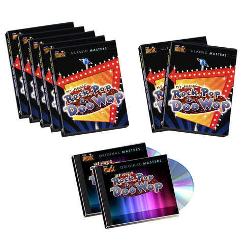 Rock, Pop & Doo Wop 7-DVD/2-CD Set