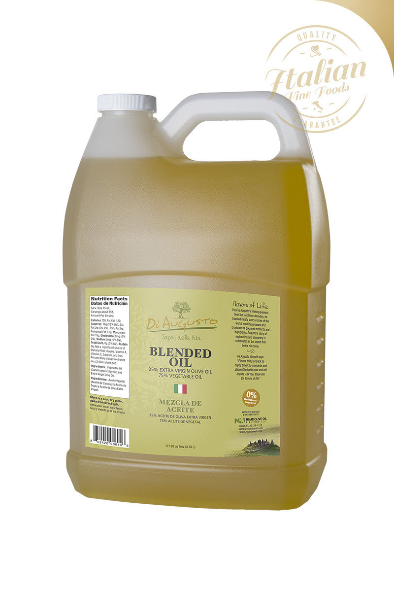 Blended Oil 90% Vegetable Oil / 10% EVOO