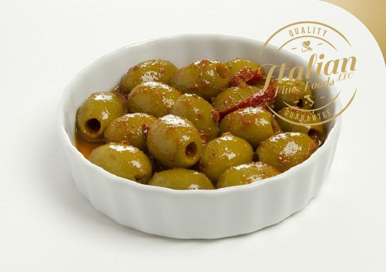 Hot Spiced Olives