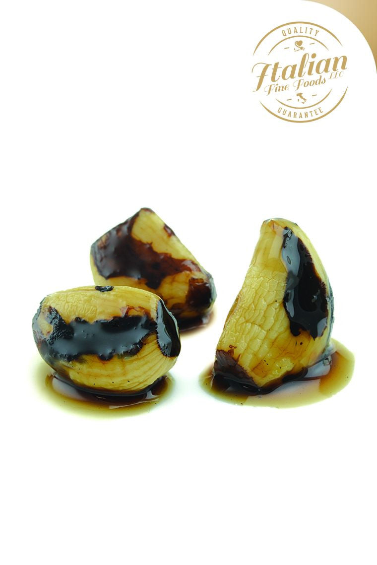 Caramelized Garlic with Balsamic Vinegar