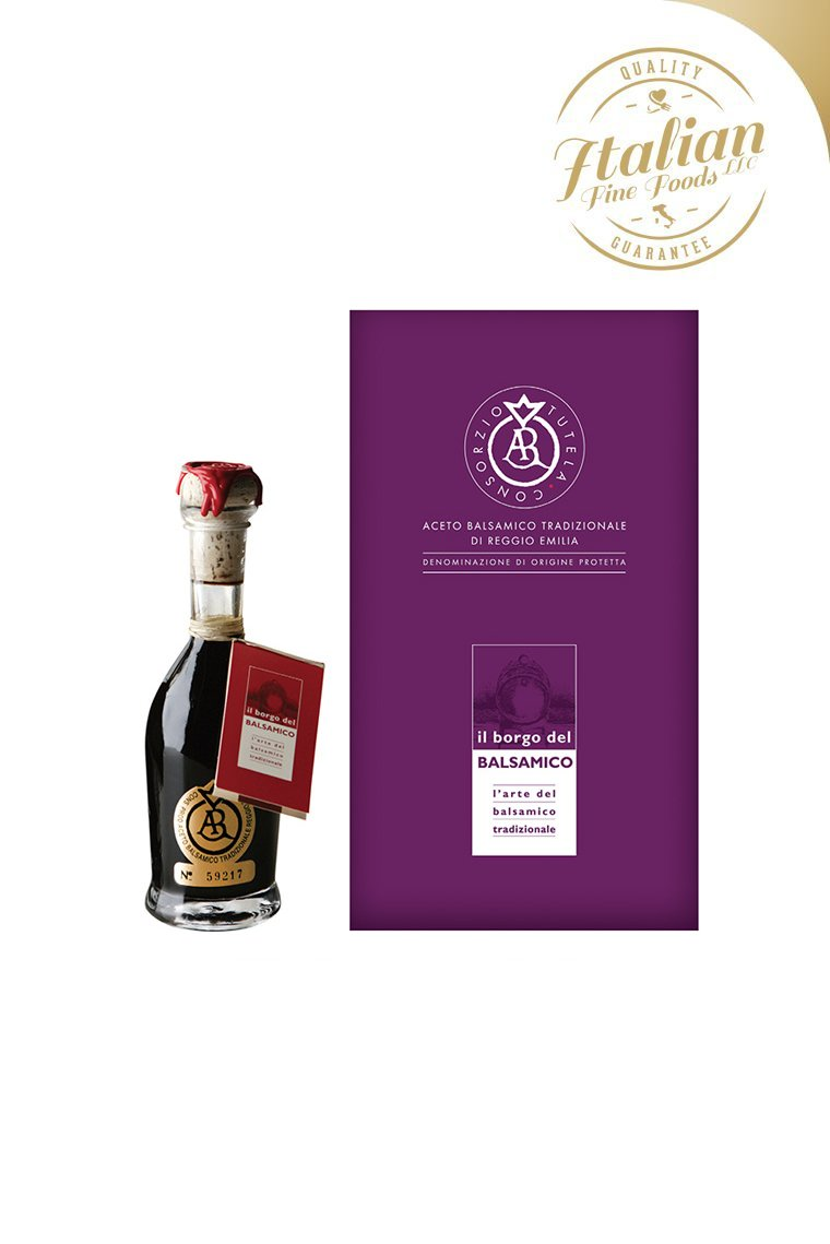 TRADITIONAL BALSAMIC VINEGAR OF REGGIO EMILIA – GOLD LABEL
