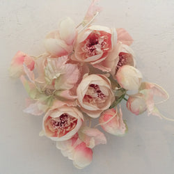 pale pink peony garland shabby chic decoration