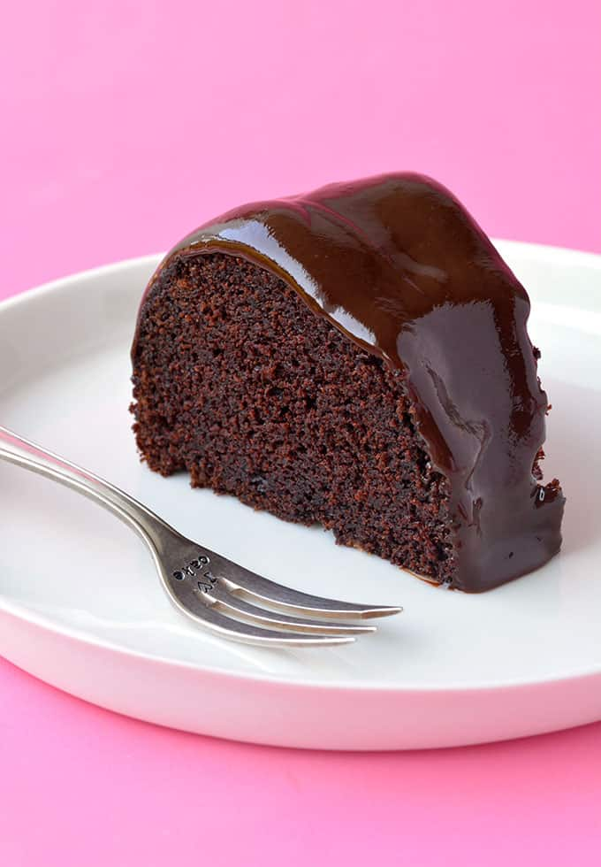 Vegan Double Chocolate Cake