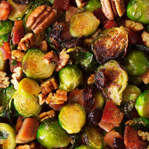 Kricklewood Farm Brussel Sprouts with Toasted Pecans