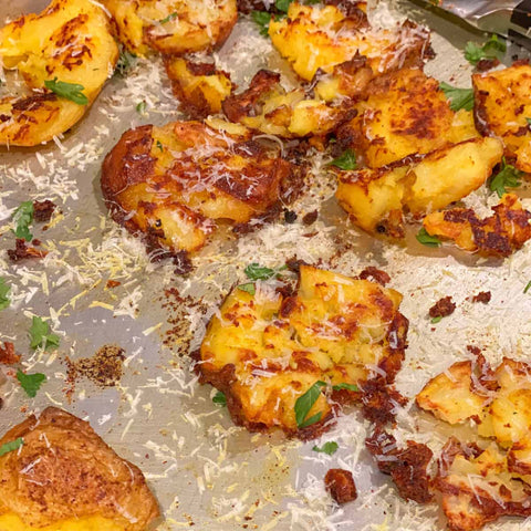 Kricklewood Farm Spicy Smashed Potatoes