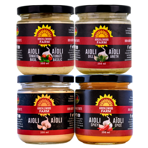 NEW! Aioli Lovers Gift Set