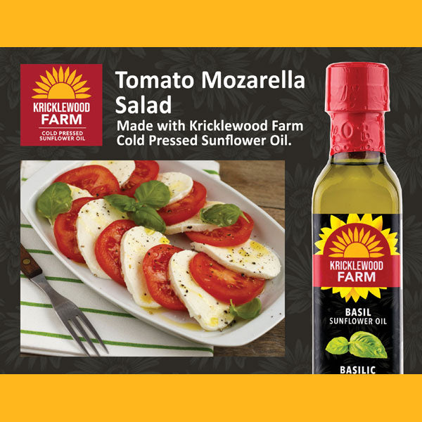 Kricklewood Farm Basil Tomato Mozzarella Salad Recipe