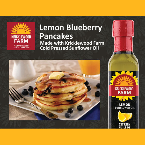 Kricklewood Farm Lemon Blueberry Pancake Recipe