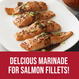 Delicious Marinade for Salmon Fillets!  Kricklewood Farm Maple Balsamic Bread Dipper
