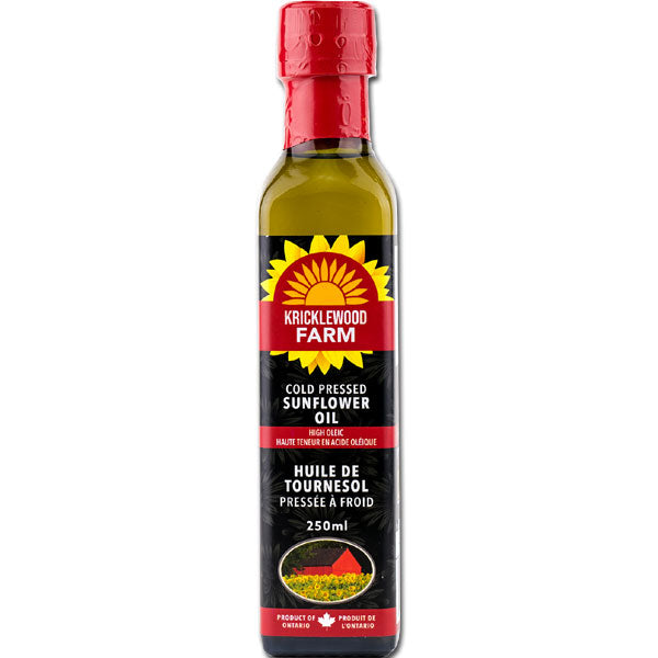 Sunflower Oil 250 ml - Kricklewood Farm