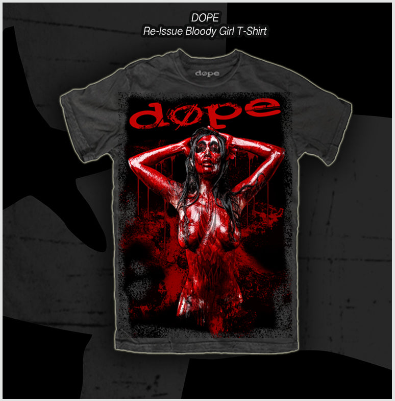 Dope - Blood Money - Reissue - T-Shirt - Apparel