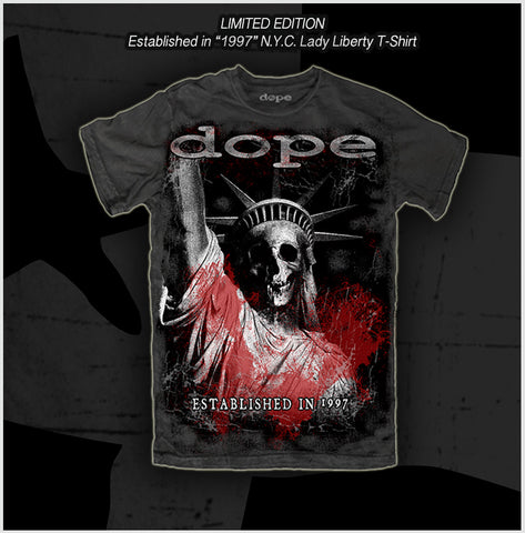 Dope - Established in 1997 - T-Shirt - Apparel