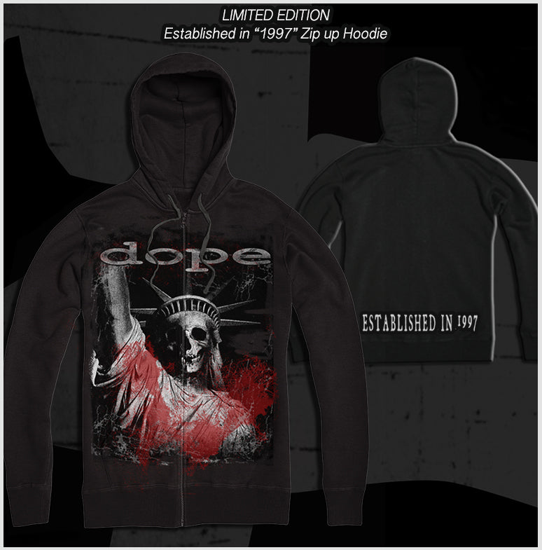 DOPE - Established in 1997 - Zip Up Hoodie - Apparel