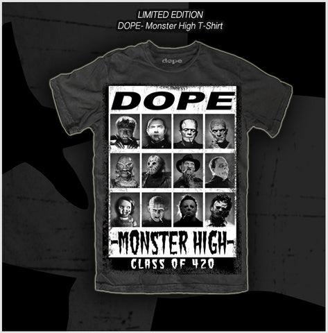 Dope - Monster High -T-Shirt - Apparel