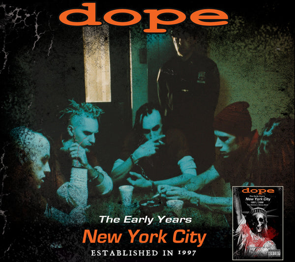 Dope - The Early Years - 1997/1998 Story Book & Soundtrack - Pre Order- Ships Dec 1st