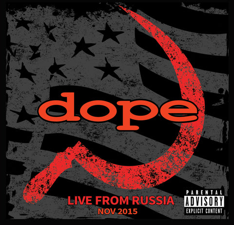 Live Album Digi Pak and Commemorative patch - 21 tracks recorded LIVE from Russia. Recordings are of the Highest Quality