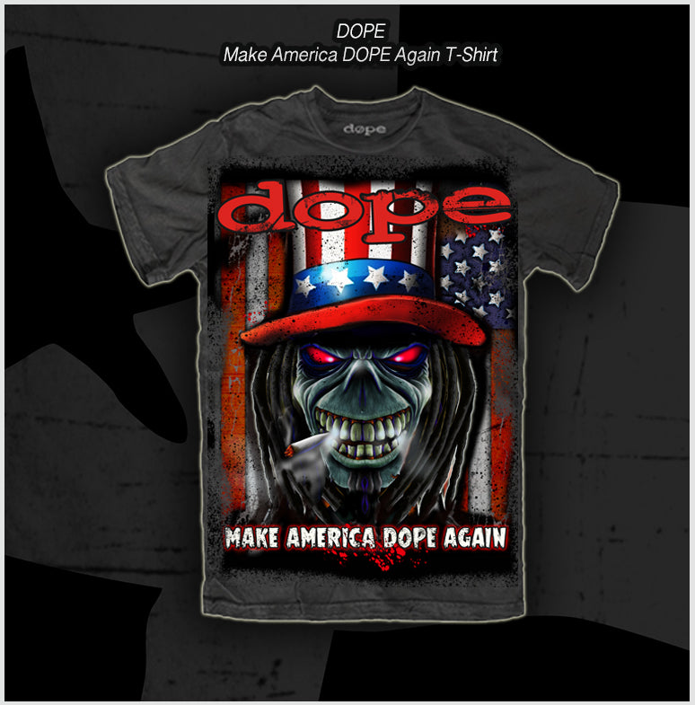 Dope - Make America Dope Again -T-Shirt - Apparel