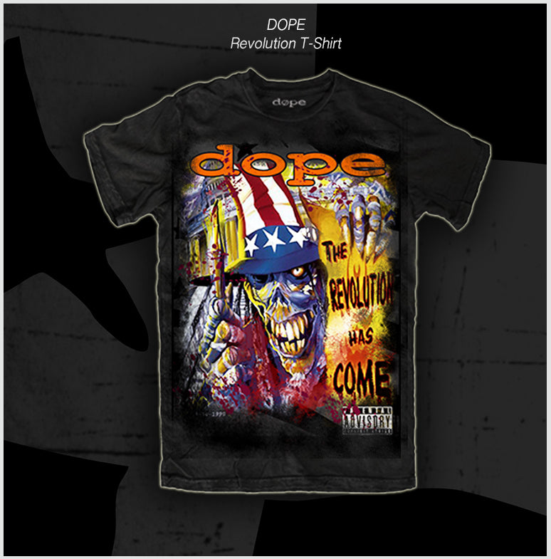 DOPE - The Revolution Has Come - 20 Year Anniversary T-Shirt