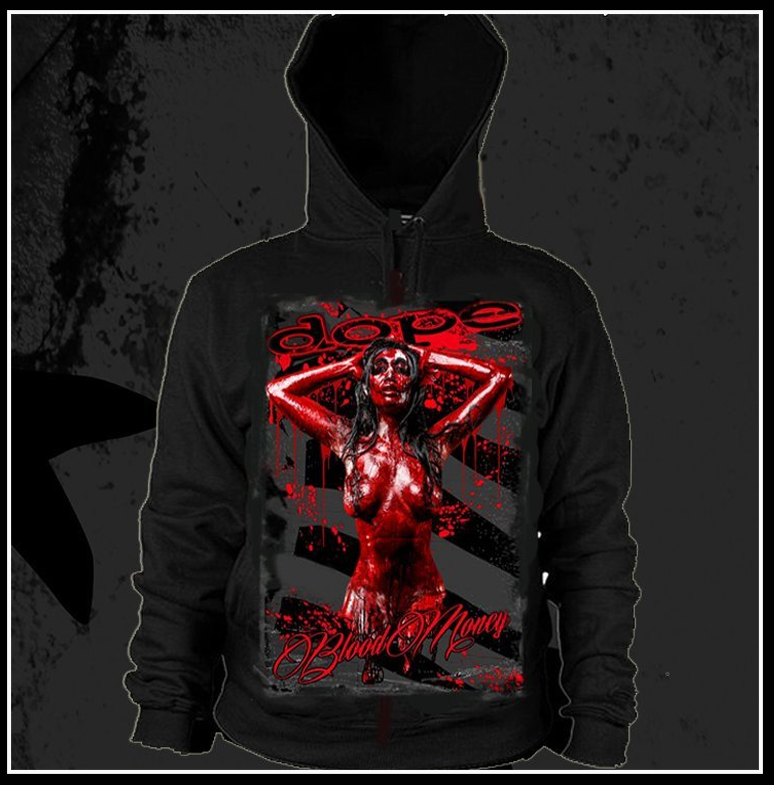 Blood Money Hoody - Apparel