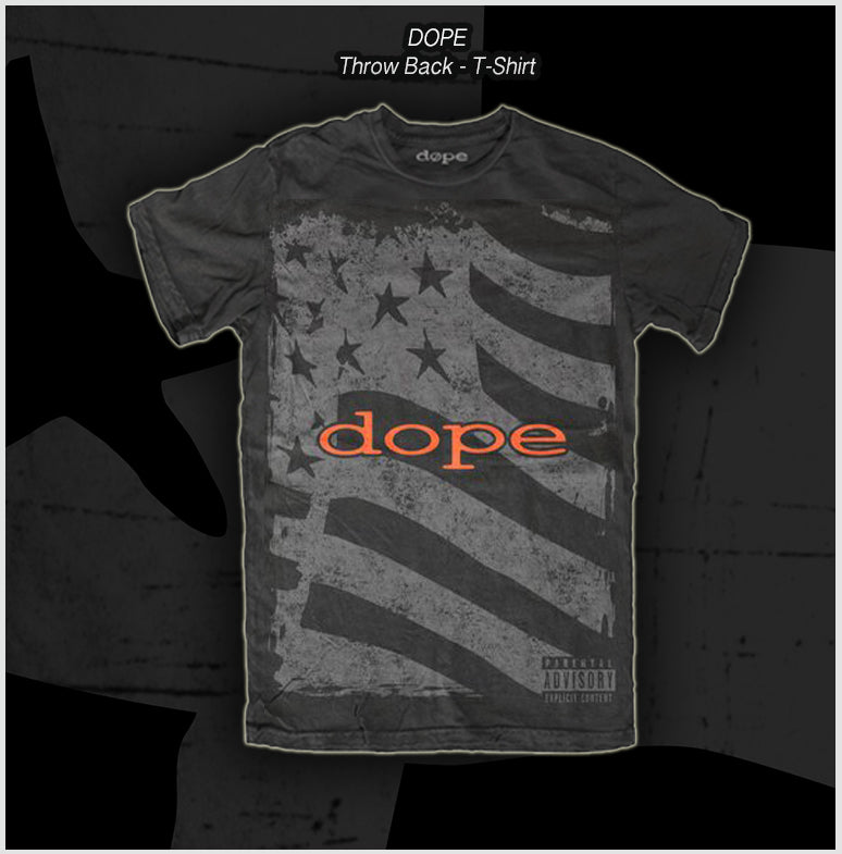 Dope - Throwback - T-Shirt - Apparel