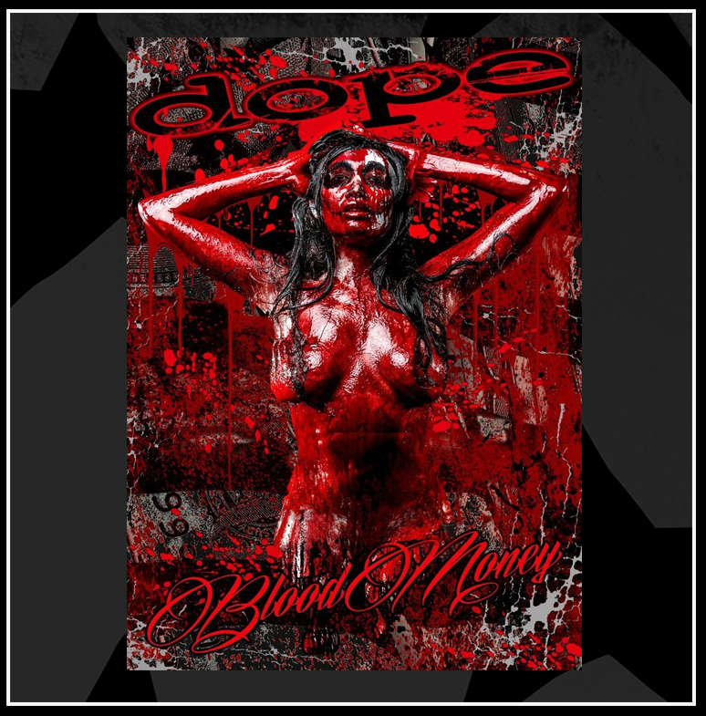 Autographed Blood Money Poster 11x17