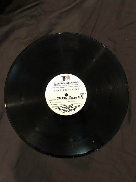 Blood Money Part 1 Vinyl Test Pressing - Only 2 ever made