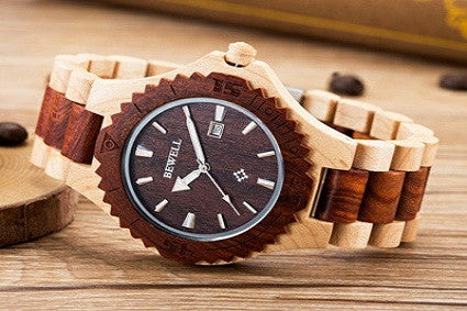 Natural Bewell Wooden Watches