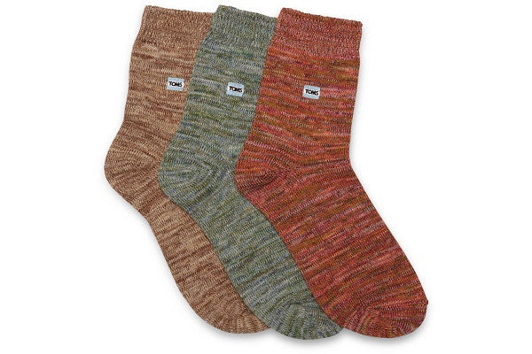 3 PACK YARN SOCKS - SustainTheFuture.us - The Natural and Organic Way of Life