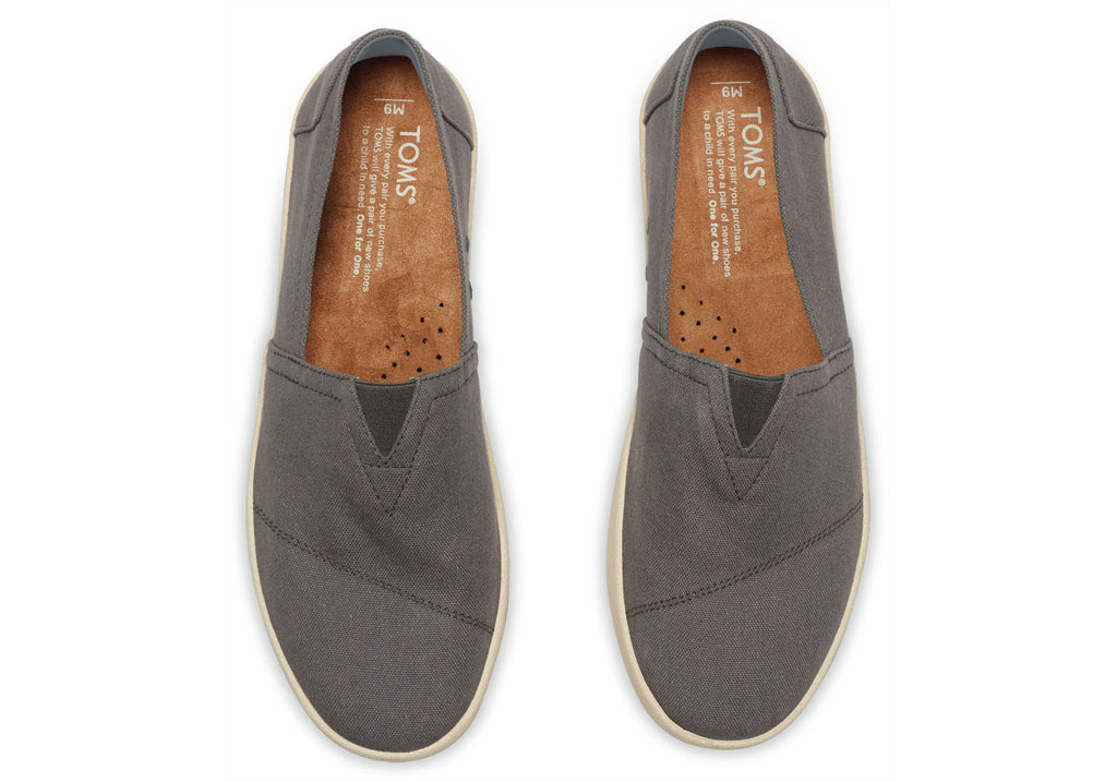 ASH CANVAS MEN'S AVALON SLIP-ONS - SustainTheFuture.us - The Natural and Organic Way of Life