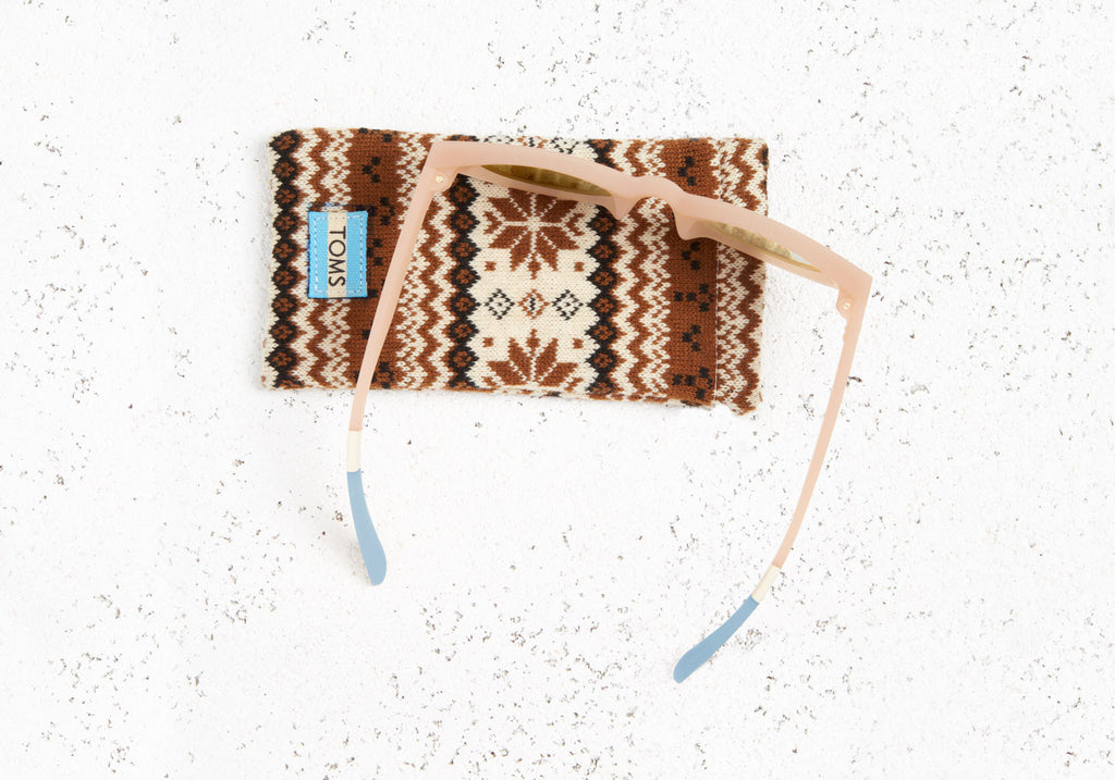 TRAVELER BY TOMS FLORENTIN MATTE NUDE
