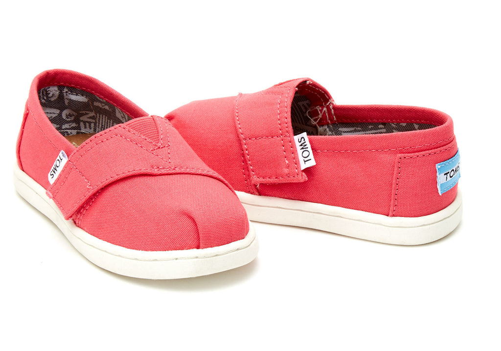 BARBERRY PINK CANVAS TINY TOMS CLASSICS - SustainTheFuture.us - The Natural and Organic Way of Life