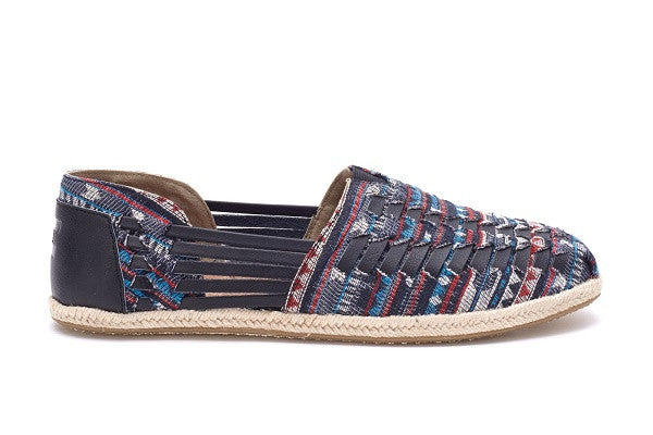 BLUE CULTURAL WOVEN MEN'S HUARACHE ALPARGATAS - SustainTheFuture.us - The Natural and Organic Way of Life