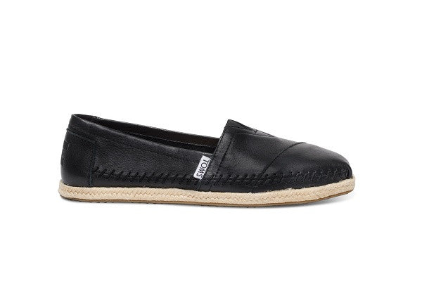 BLACK FULL GRAIN LEATHER WOMEN'S CLASSIC - SustainTheFuture.us - The Natural and Organic Way of Life