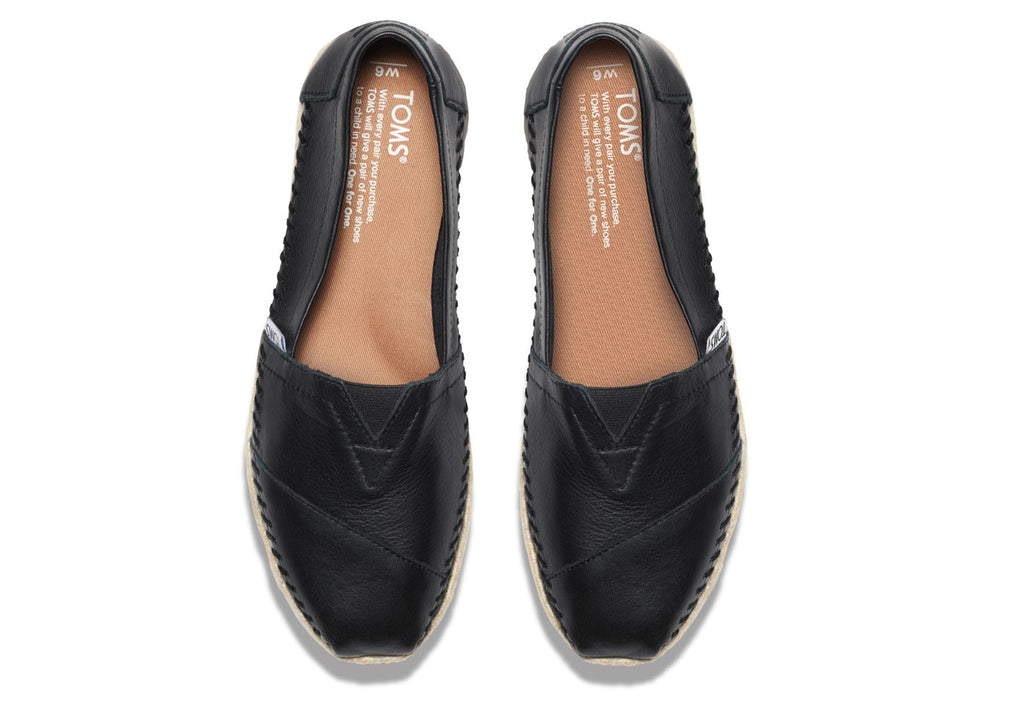 BLACK FULL GRAIN LEATHER WOMEN'S CLASSIC