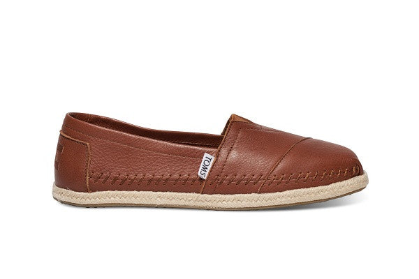COGNAC FULL GRAIN LEATHER WOMEN'S CLASSICS