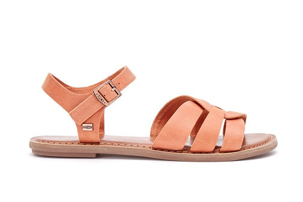BROWN LEATHER WOMEN'S ZOE SANDALS - SustainTheFuture.us - The Natural and Organic Way of Life